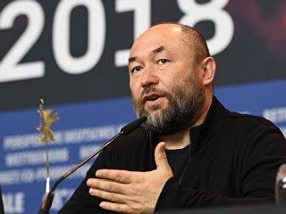 Режиссер Тимур Бекмамбетов на пресс-конференции своего фильма Профиль (Profile) в рамках 68-го Берлинского международного кинофестиваля Берлинале - 2018