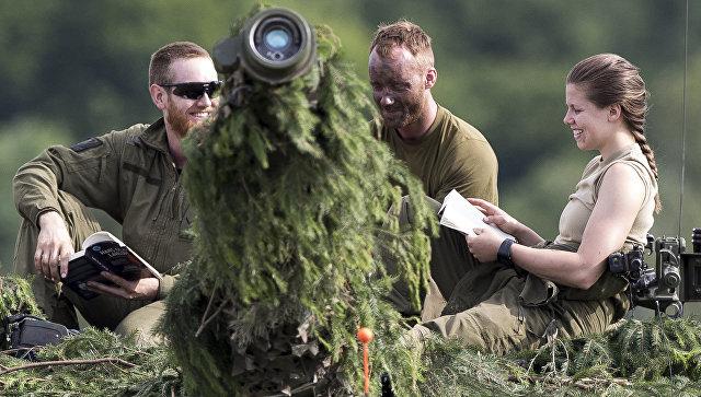 Учения НАТО Iron Wolf 2017 в Латвии. 20 июня 2017