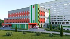 Проект отделения скорой помощи городской клинической больницы имени В.М. Буянова