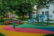 Детский городок в Трубниковском переулке