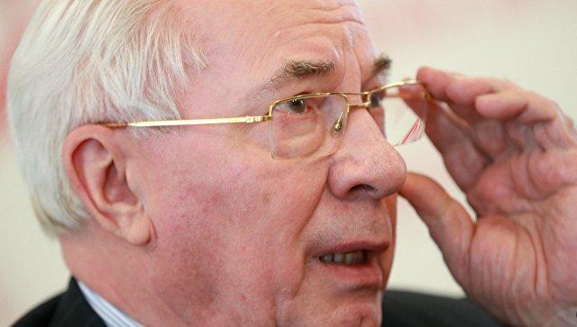 Европейский суд отказал врассмотрении иска Азарова оснятии санкций