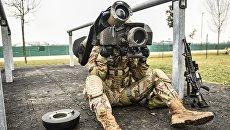 Противотанковый ракетный комплекс (ПТРК) Javelin. Архивное фото