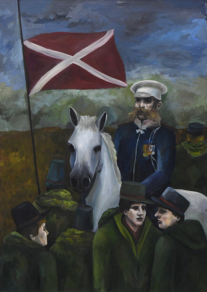 Белый генерал, Шестакова Мария