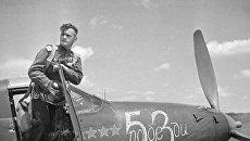 Николай Гулаев, летчик-истребитель, дважды Герой Советского Союза гвардии капитан