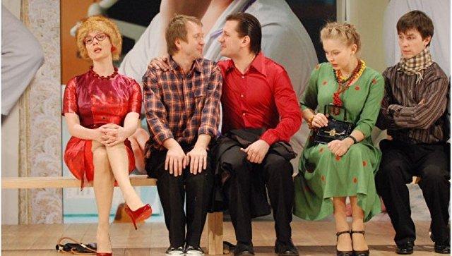 Сцена из спектакля Рассказы Шукшина в Театре Наций. Архивное фото