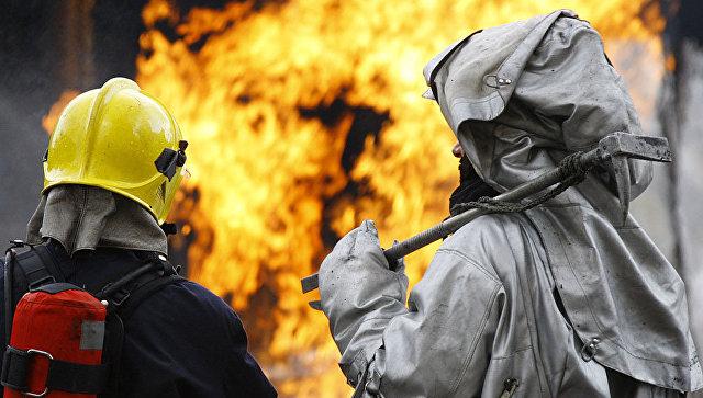 В Челябинской области при пожаре в частном доме погибли четыре человека