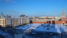 Вид Московского Кремля. архивное фото