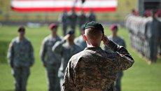 Солдаты спецназа США (зеленые береты). Архивное фото