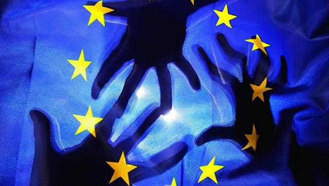 Флаг Евросоюза. Архивное фото