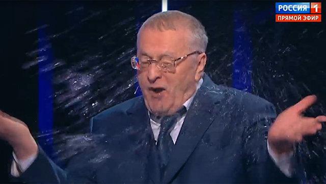 Стоп-кадр дебатов на канале Россия 1