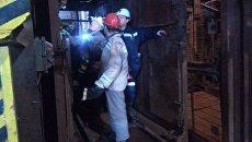 Поисково-спасательная операция на закрытой шахте в городе Североуральск