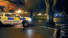 Полицейский автомобиль в Солсбери после госпитализации бывшего полковника ГРУ Сергея Скрипаля