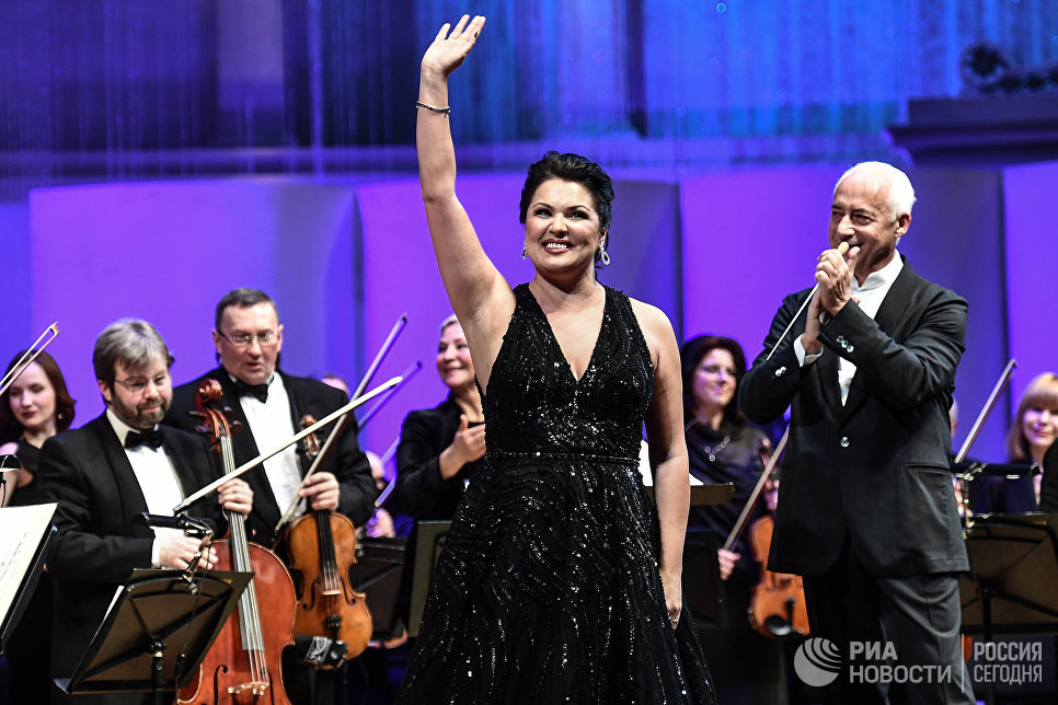 Оперная певица Анна Нетребко