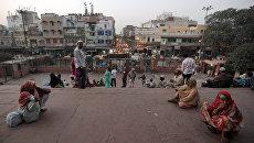 Вид на Старый Дели, расположенный на севере Индии. Архивное фото