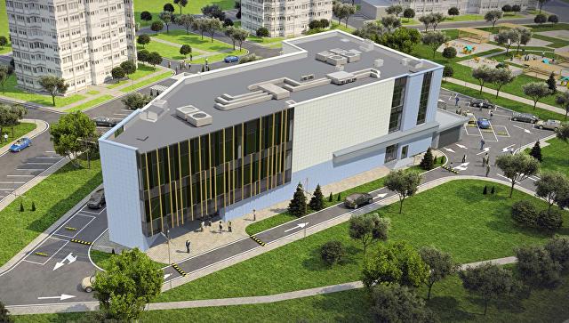 Визуализация проекта МФЦ по адресу Ставропольский проезд, вл.9
