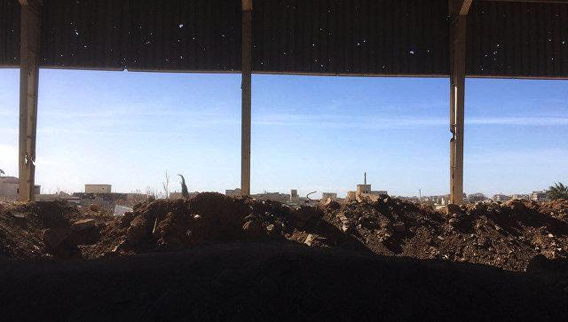Южный выход из сирийской Восточной Гуты