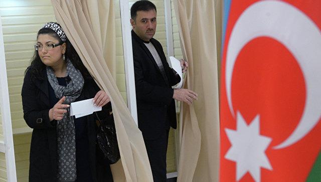 Выборы президента Республики Азербайджан. Архивное фото