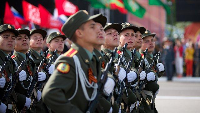 Празднование Дня Победы в Тирасполе. Архивное фото