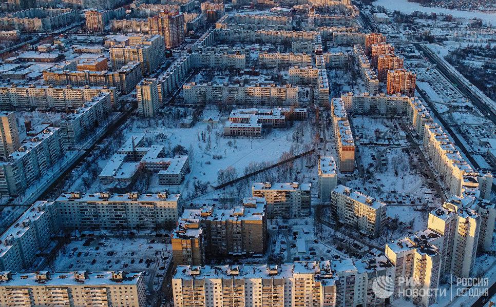 Ново-Савиновский район Казани.
