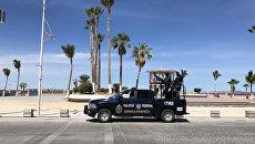 Автомобиль мексиканской полиции. Архивное фото