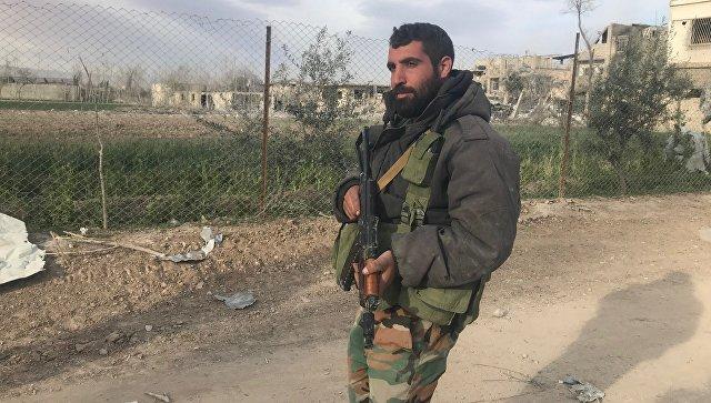 Сирийский военнослужащий. Архивное фото