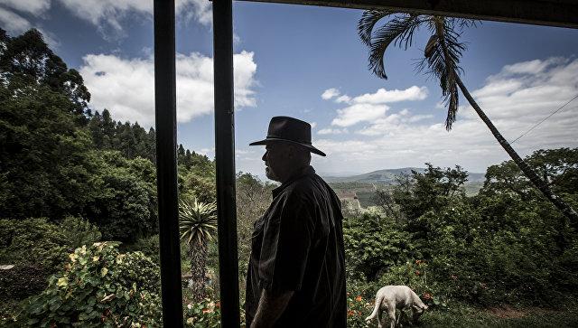 Фермер в городе Тзанеен, ЮАР
