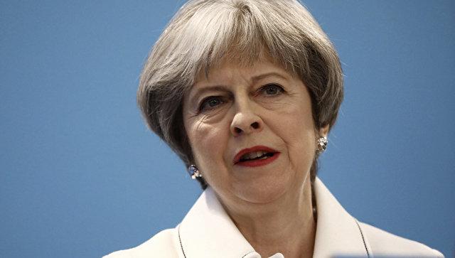 Премьер-министр Великобритании Тереза Мэй на весеннем форуме Консервативной партии в Лондоне. 17 марта 2018