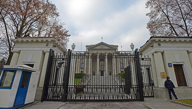 Посольство Российской Федерации в Варшаве. Архивное фото