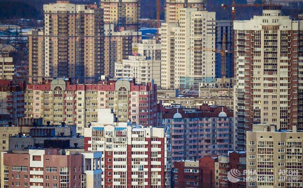 Жилые дома в Екатеринбурге