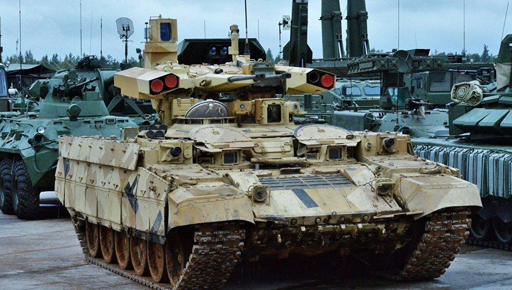 СМИ говорили о поставках навооружение русской армии БМПТ «Терминатор-2»