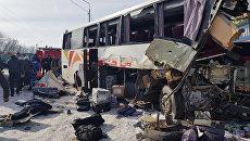 ДТП с участием пассажирского автобуса в Павловском районе Воронежской области. Архивное фото
