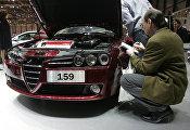 Alfa Romeo на выставке машин в Швейцарии