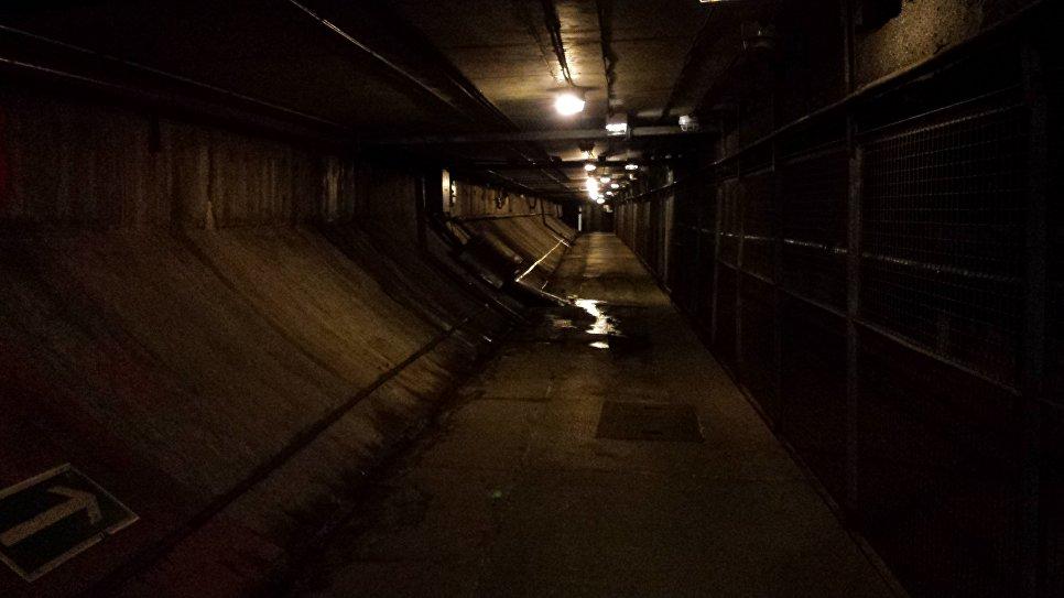 Эвакуационный тоннель