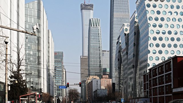 Деловой район Пекина. Архивное фото