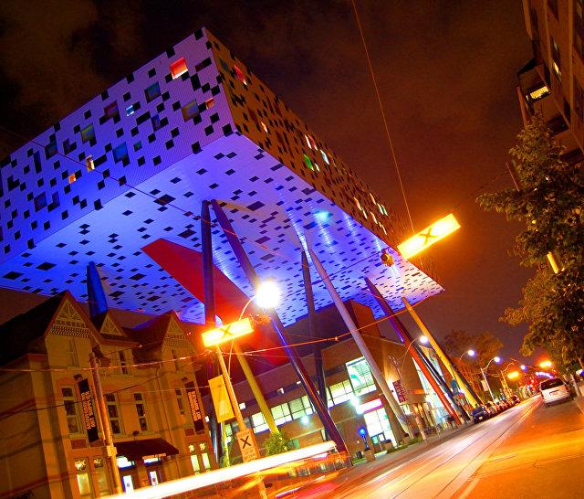 Здание OCAD в Торонто