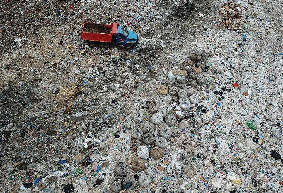 Полигон твердых бытовых отходов Ядрово. Архивное фото