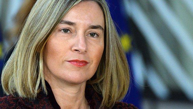Верховный представитель ЕС по внешней политике Федерика Могерини на саммите ЕС в Брюсселе. Архивное фото