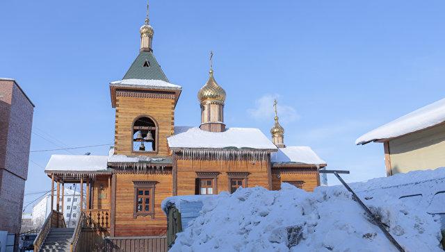 Спасский монастырь, республика Якутия