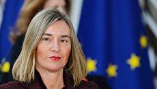 Верховный представитель Европейского союза по иностранным делам и политике безопасности Европейского Союза Федерика Могерини. Архивное фото