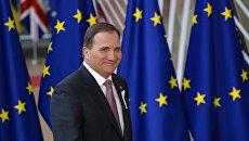 Премьер-министр Швеции Стефан Левен. Архивное фото