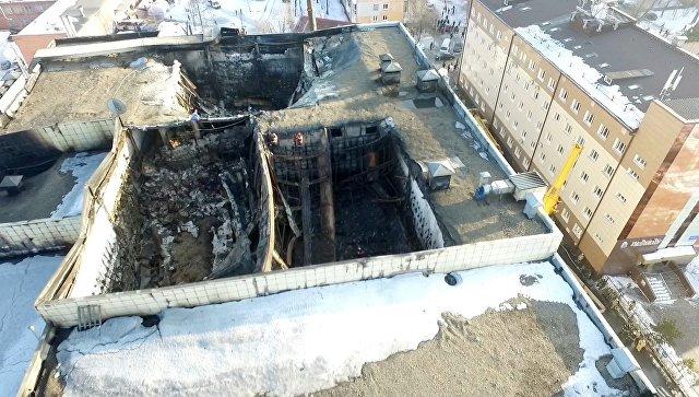 Пучков поручил создать  план сноса сгоревшегоТЦ вКемерове