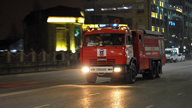 Спасатели локализовали крупный пожар в поликлинике в Башкирии