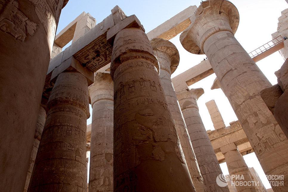 Храм Карнак (город живых) в Луксоре