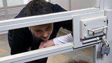 Депутат Верховной рады Украины Надежда Савченко во время заседания суда. Архивное фото