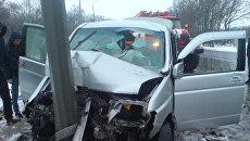 ДТП на 377 километре федеральной автомобильной дороги М-5 Урал. 31 марта 2018