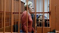 Надежда Судденок в Заводском районном суде в Кемерово. Архивное фото
