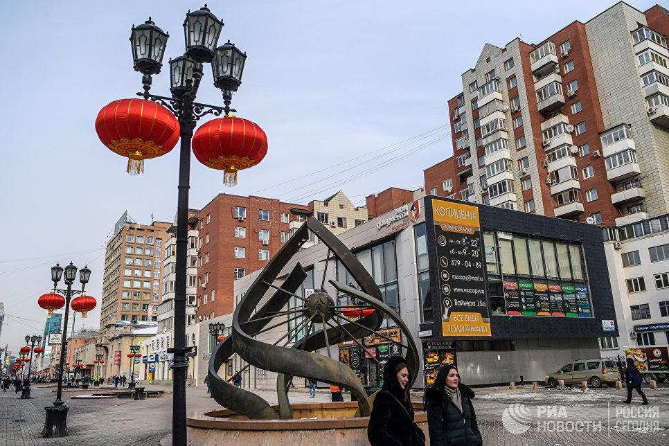 Фонтан Спираль времени на улице Вайнера в Екатеринбурге