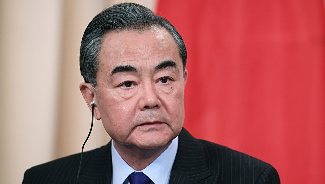Руководитель МИД Китая Ван Ипосетит Северную Корею сначала мая