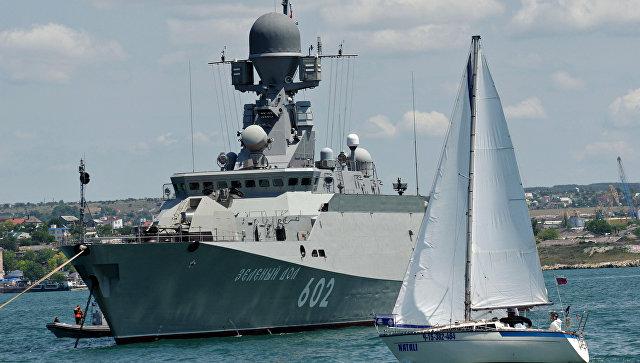 Малый ракетный корабль Зеленый Дол в Севастополе. Архивное фото