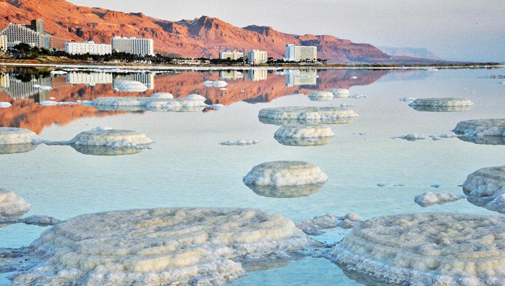 Мертвое море со стороны Израильского побережья